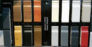 painted cladding samples