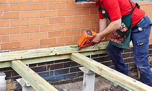 Timber Decking Fixing