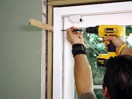 Installing a Fire door