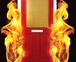 door fire